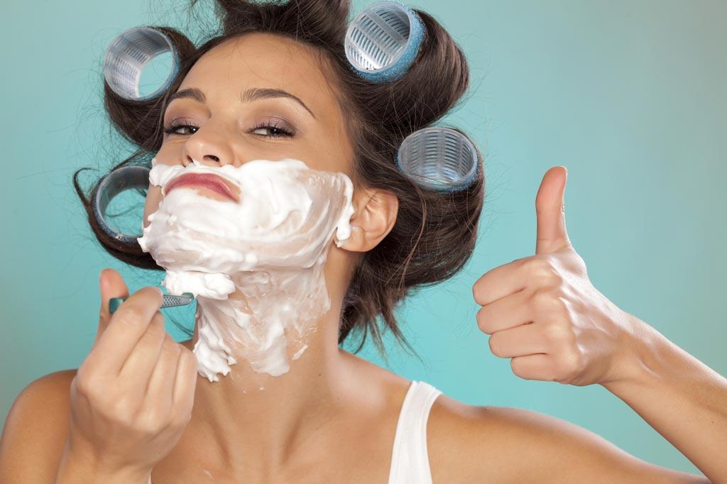 Как удалить волосы в домашних условиях