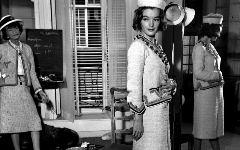 Коко Шанель коллекция 50-х