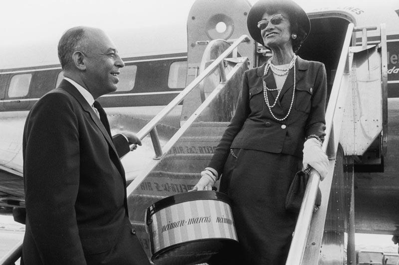 Коко Шанель с бароном Гансом Гюнтером фон Динклагеном