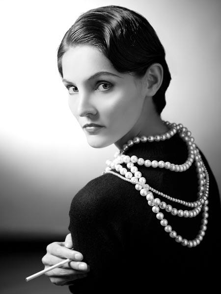 Молодая Коко Шанель