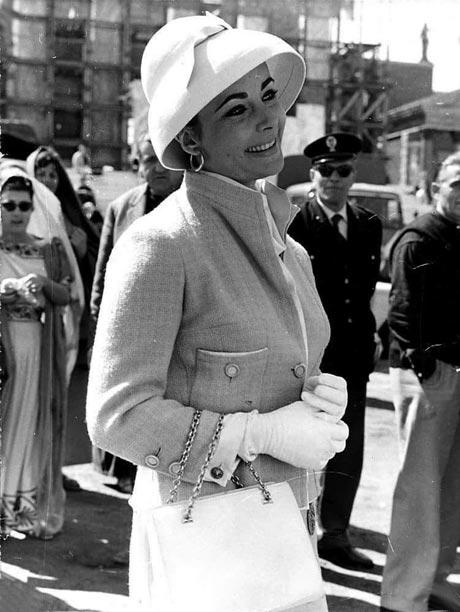 Элизабет Тейлор в наряде Chanel