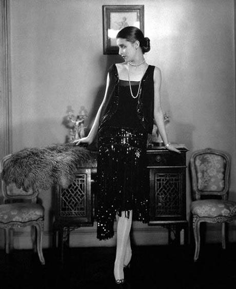 Платье из бисера Chanel