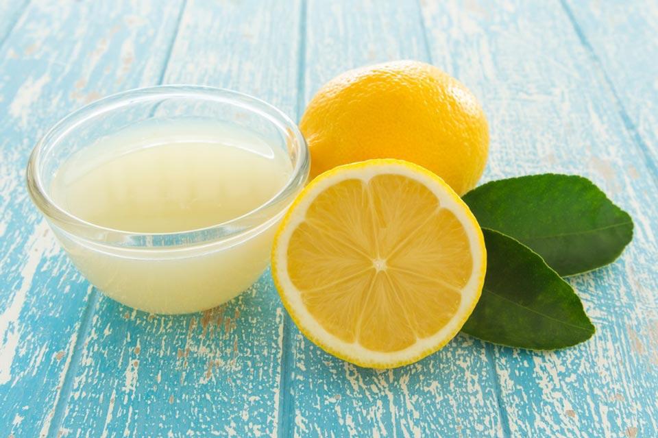 Лосьон с лимона