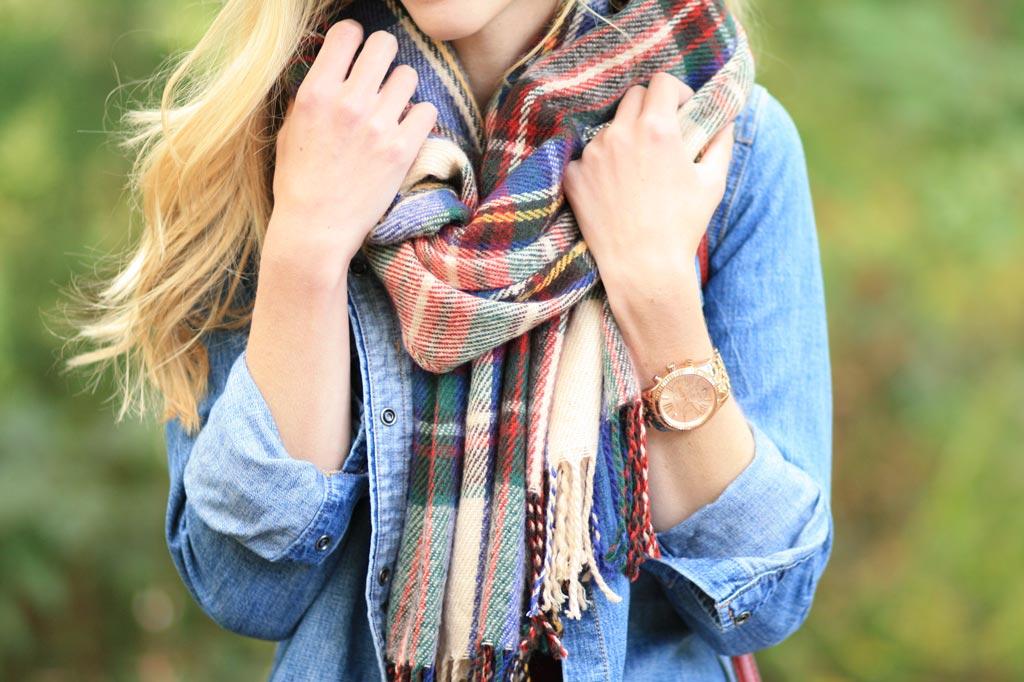 Как красиво и модно завязать шарф