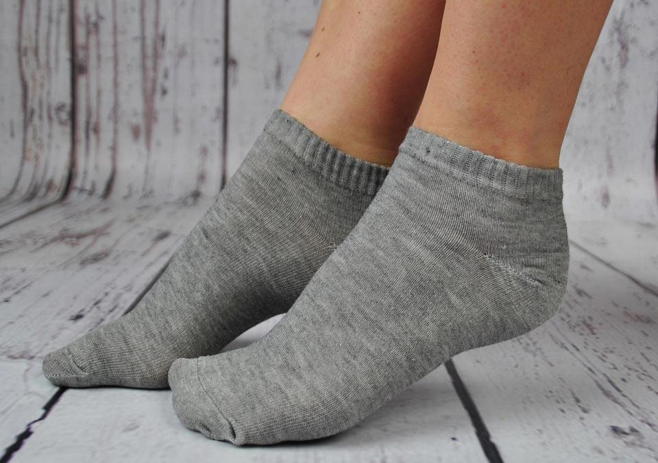 Заниженные женские носки