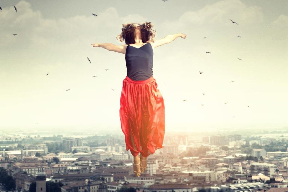Чувство эйфории, полёта над землёй