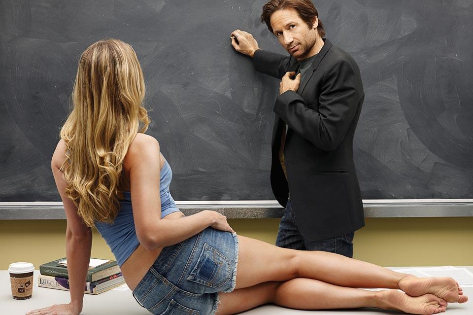 Влюблённая в преподавателя студентка
