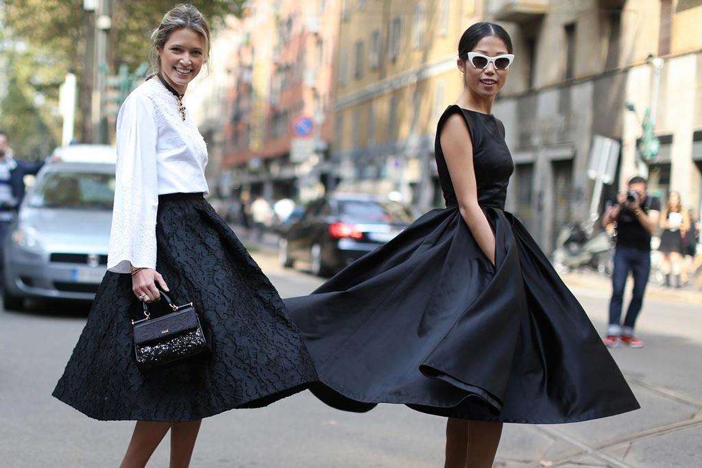 Стиль Нью Лук в одежде — воплощение женственности и красоты